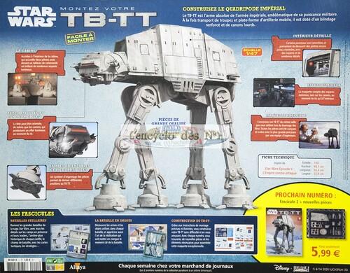 N° 1 Montez votre TB-TT Star Wars - Test