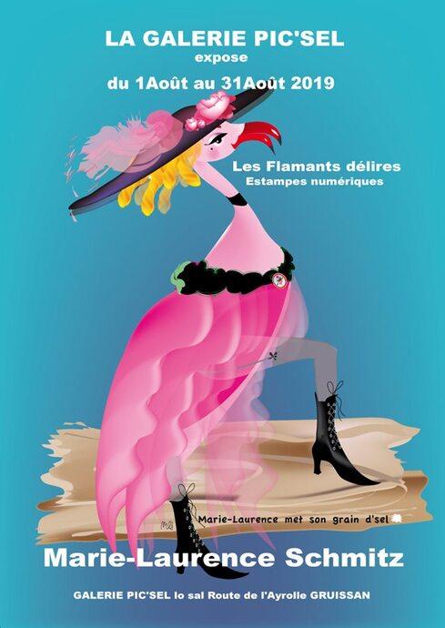 Aux Salins jouent les flamants roses