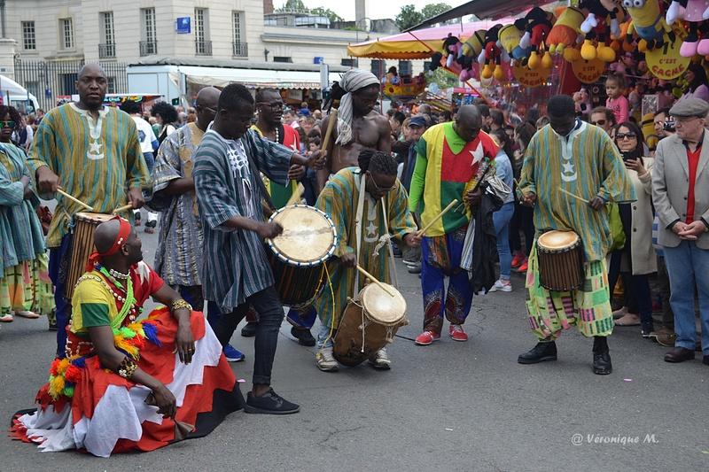 Rambouillet : Fête du Muguet : défilé (2)