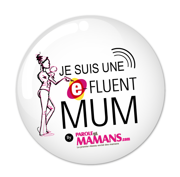 badge e-fluent mum