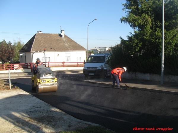 Plusieurs rues de la ville de Châtillon sur Seine ont été rénovées...