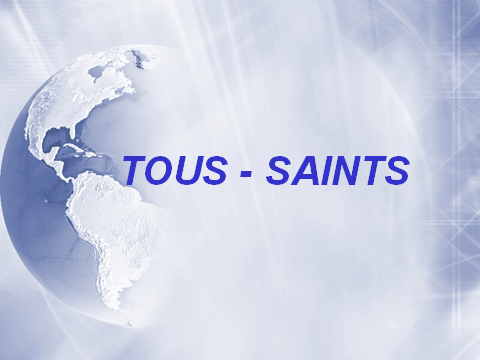 Diapositives Tous -saints