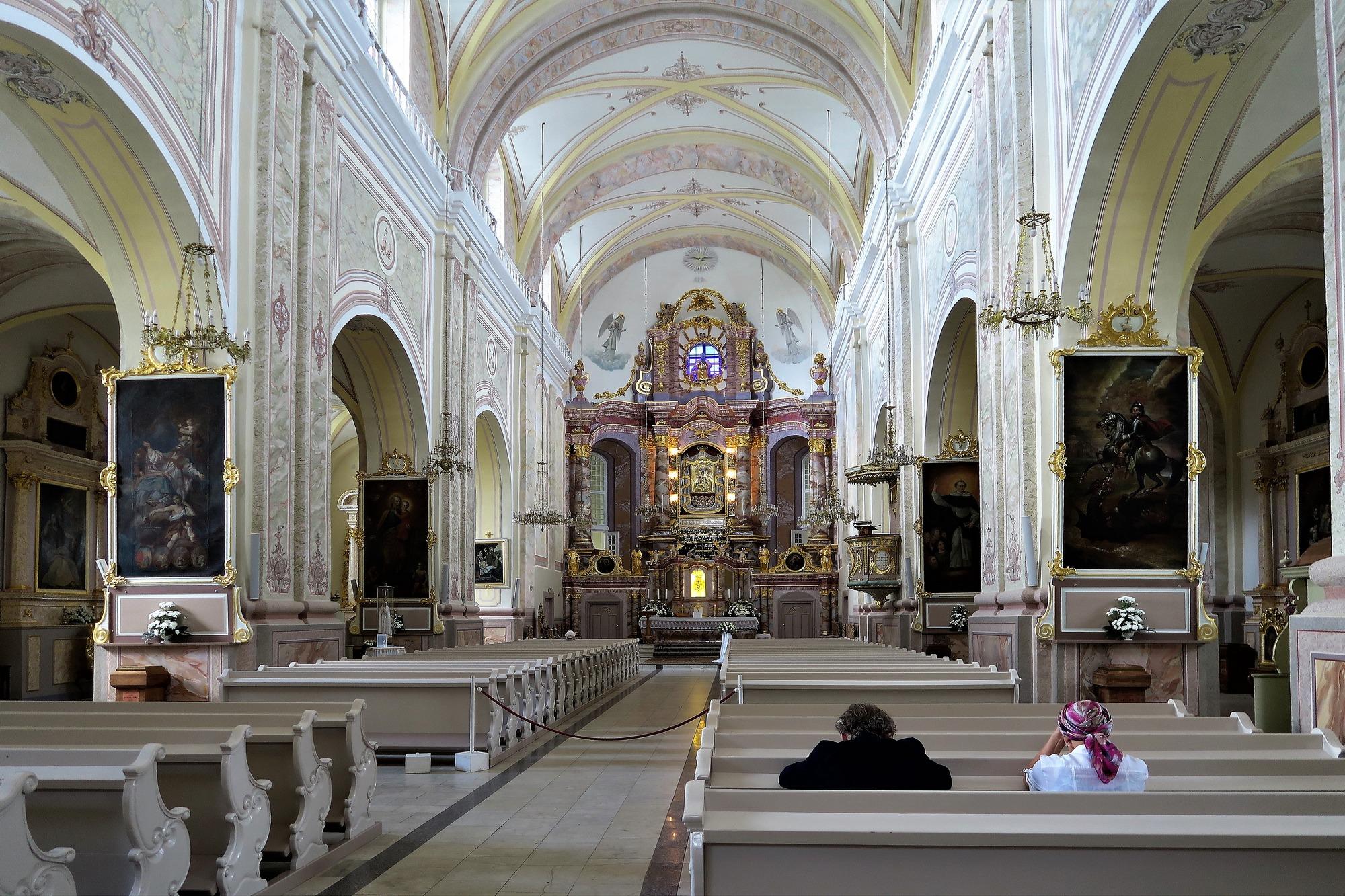 La Basilique d'AGLONA (LV)