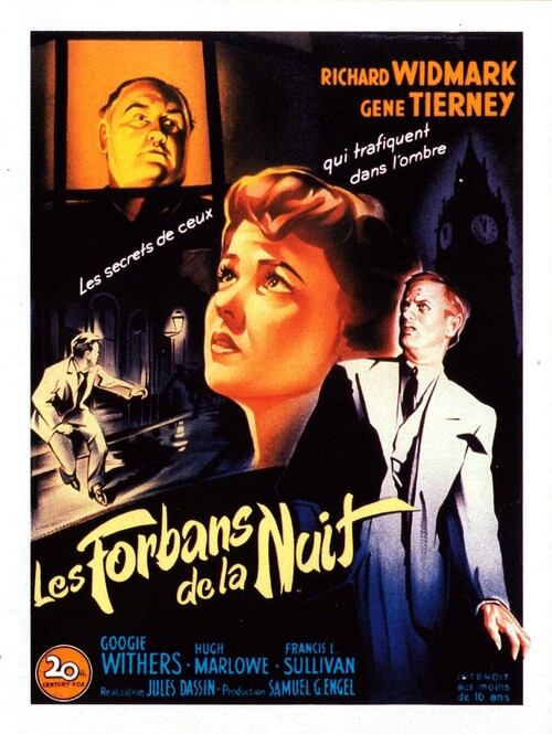 LES FORBANS DE LA NUIT BOX OFFICE 1950