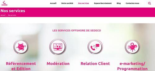 Prestation de services offshore : tournez-vous vers SEDECO !