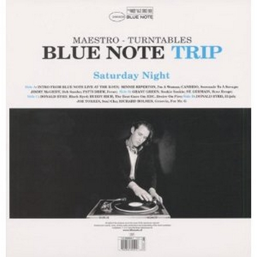 Blue Note Trip Volume 1 Maestro : Saturday Night/Sunday Morning CD Blue Note Records 07243 5434602 6 [ NL ]