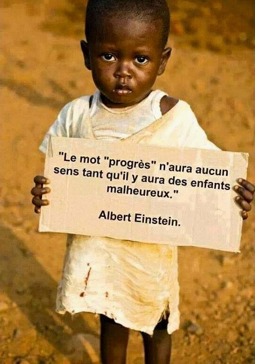 Belle citation de Albert Einstein    ...: