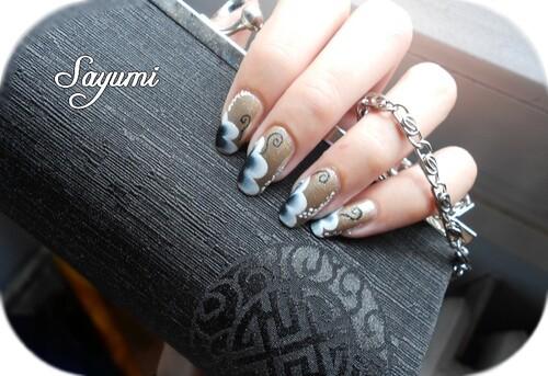 Nail Art Fleurs de Luxe