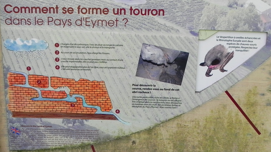 Le lavoir à Saint Sulpice d'Eymet  47