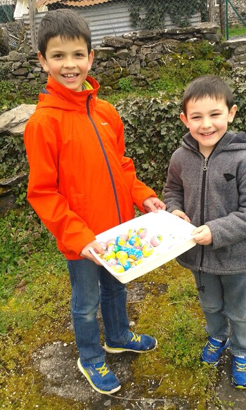 Chasse aux oeufs - 08/04/16