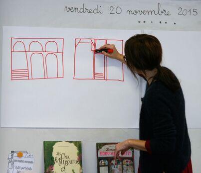 Une illustratrice de littérature jeunesse