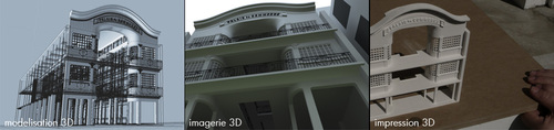 IMPRIMANTE 3D et CONSTRUCTION DE BATIMENTS