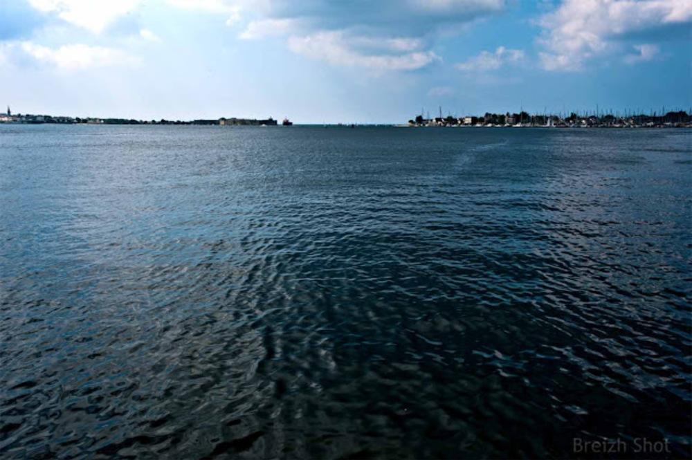 La rade de Lorient à Keroman