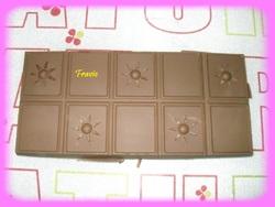 Tablette chocolat à la pralinoise