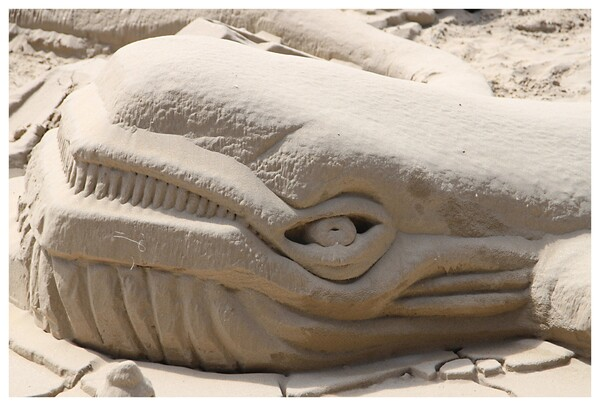 sculpture sur sable - Royan 2015