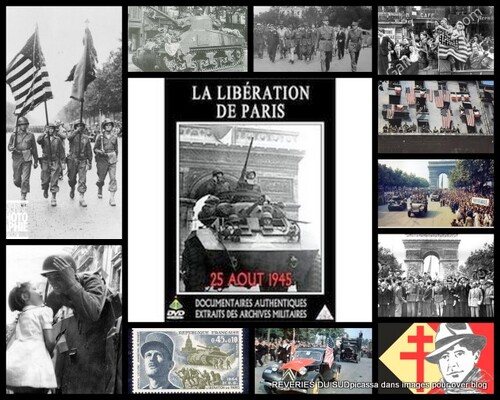 LIBERATION DE PARIS...
