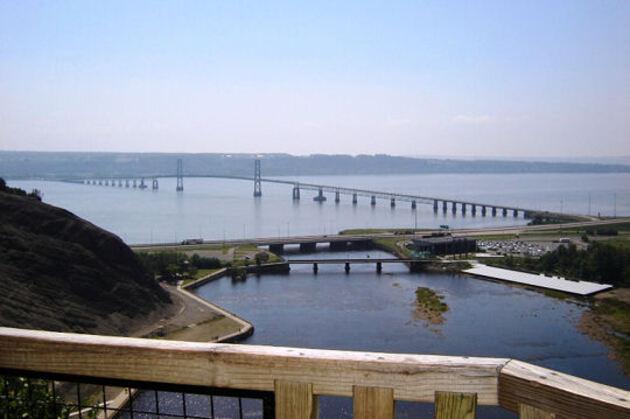 Le pont de l'Île-d'Orléans