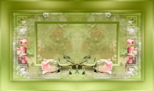 imagem espelhada