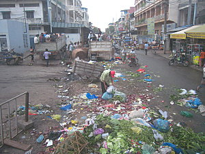 Phnom Penh : Ville propre ?