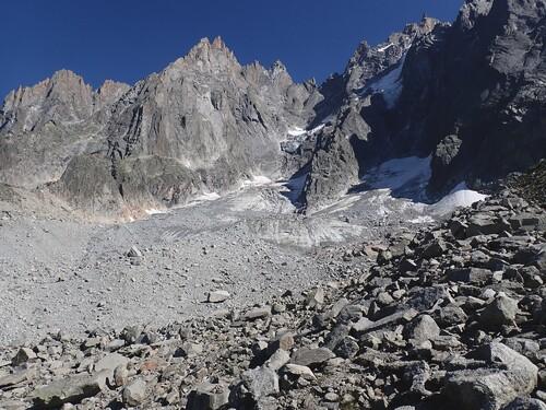 Le glacier des Pèlerins