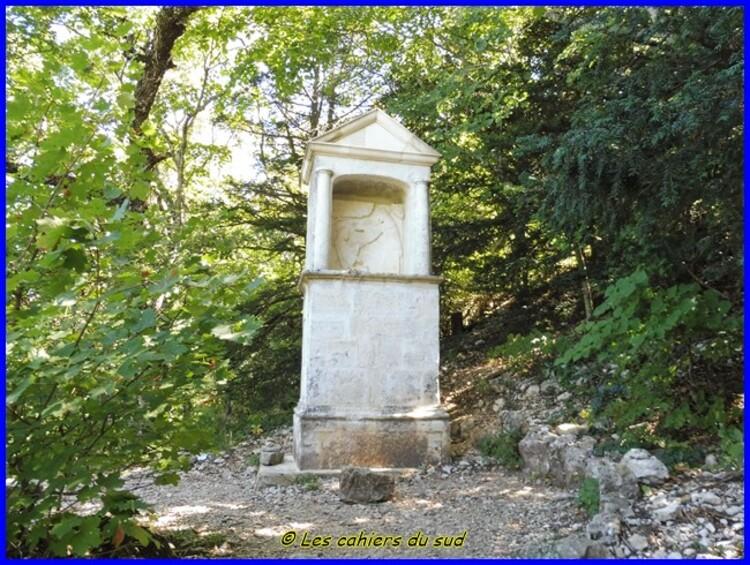 Sainte Baume, le pas de Brancaille