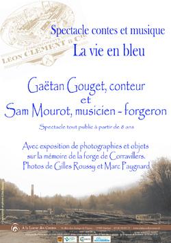 """Nouveau spectacle """"la vie en bleu"""" et exposition de photographies"""