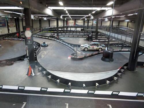 Premiers essais de karting électrique