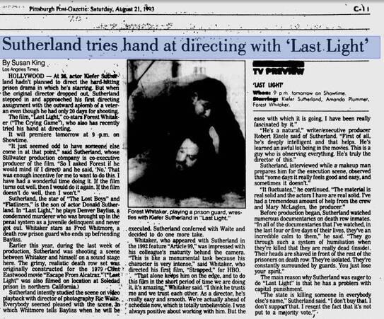 1993 -Last Light