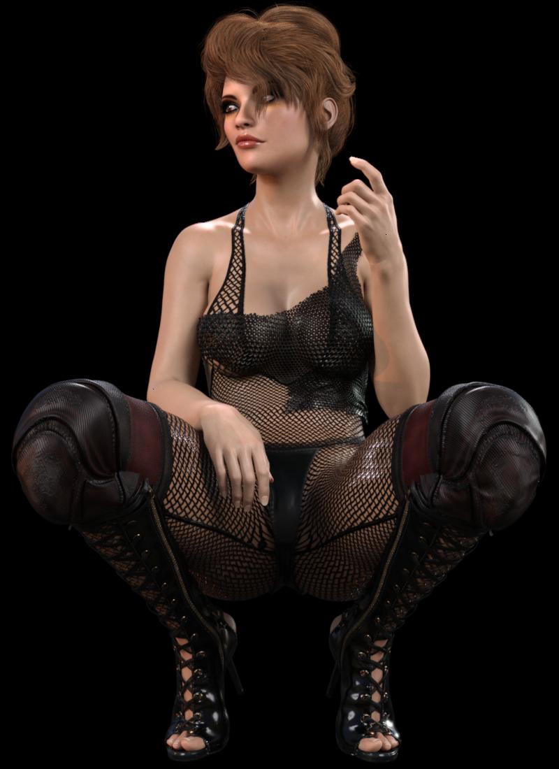 Tube de bad girl sexy (render-image)