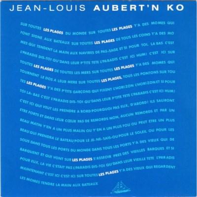 Jean-Louis Aubert And Ko - Les Plages (1987)