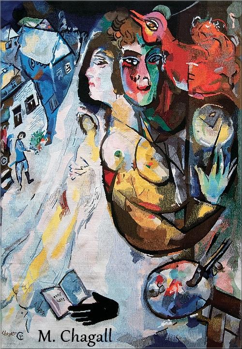 A propos des expositions consacrées à Marc Chagall, à Roubaix et Tourcoing