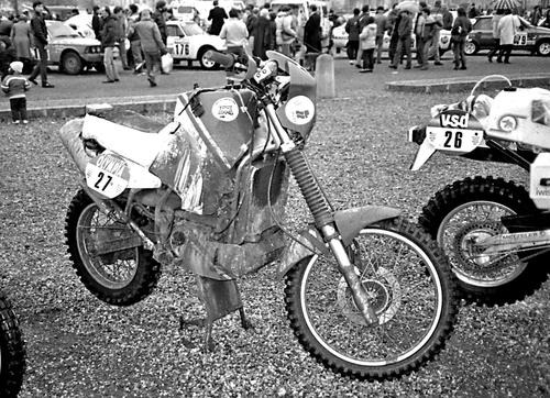 Le Dakar 1985 chez Louis XIV