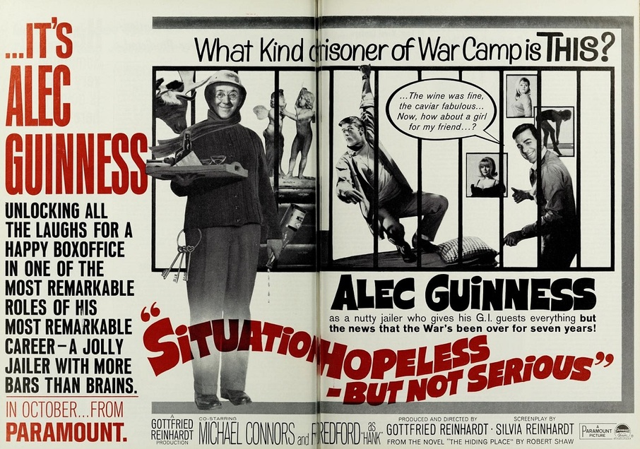 SITUATION HOPELESS - BUT NOT SERIOUS BOX OFFICE USA 1965