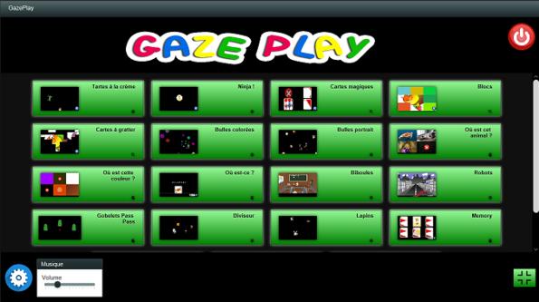 GazePlay : mise à jour et nouveaux jeux