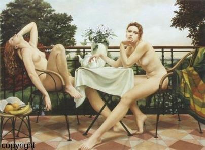 PEINTURE  les tableaux hyper réalistes de LOUIS TRESERRAS