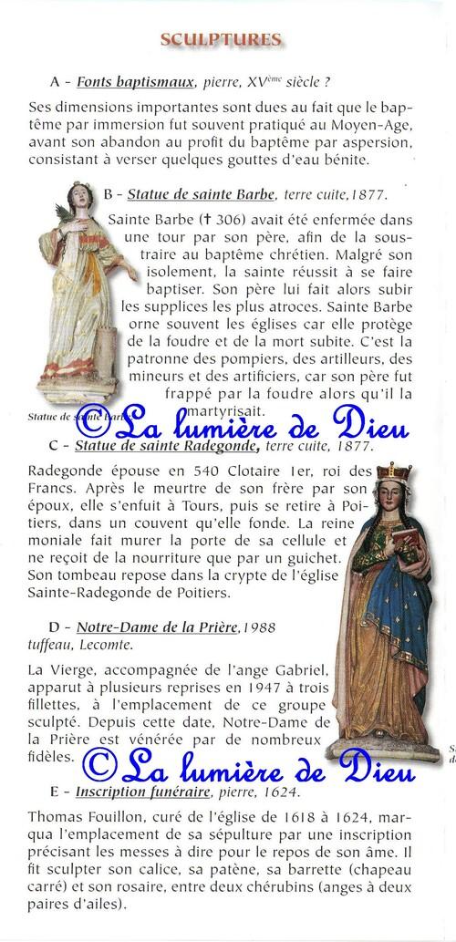 L'île Bouchard : église saint Gilles