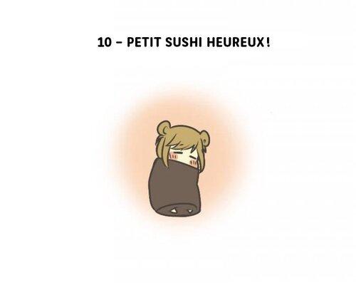 UN PETIT SUSHI HEUREUX