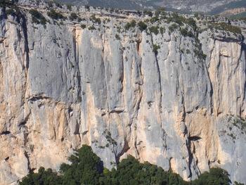 Les falaises de l'Escalès