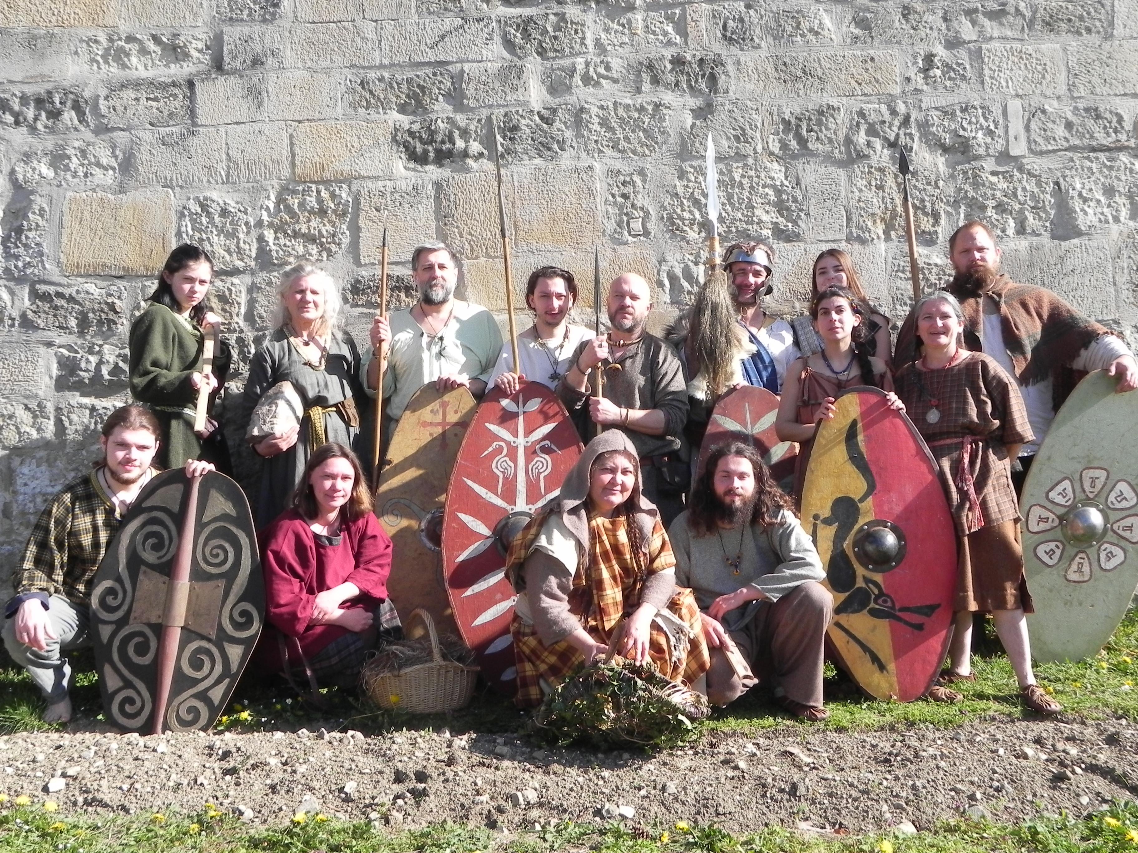 La troupe Mediomatrici présente au festival, édition 2019