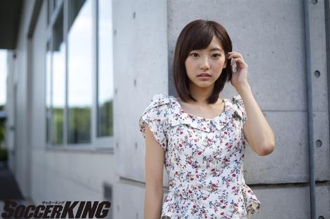 Models Collection : ( [SOCCER KING WEB] - |2015.09.04| コラム / インタビュー - Rena Takeda/武田玲奈 )