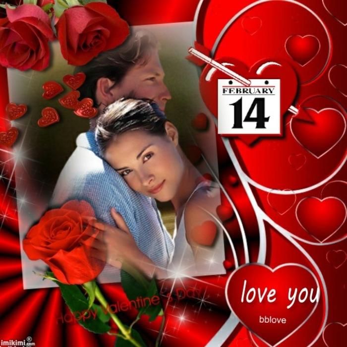La Saint Valentin arrive aimez-vous toute l'année