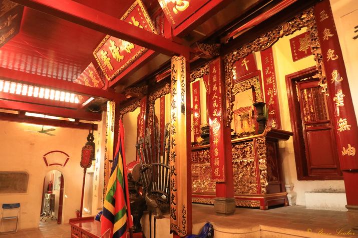 Le temple Ngoc Son, Hanoï, Viêt Nam