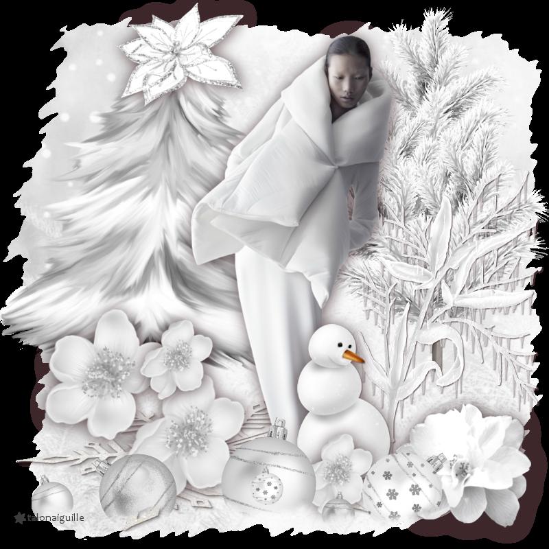 *** Janvier Blanc du 07_01_2019_ scrap sans tuto ***
