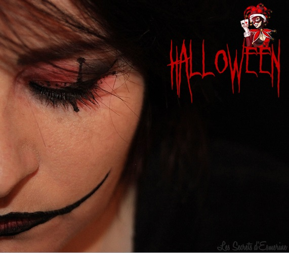 halloween, joker, 2014, maquillage, makeup