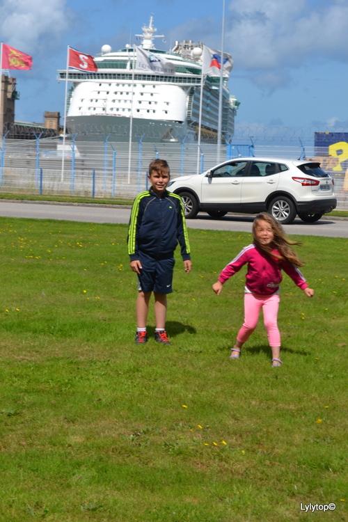 la gare maritime Cherbourg en Cotentin