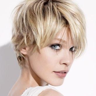 coupe de cheveux femme court tendance