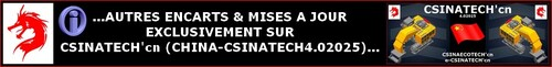 ...EXCLUSIVEMENT sur CSINATECH'cn...