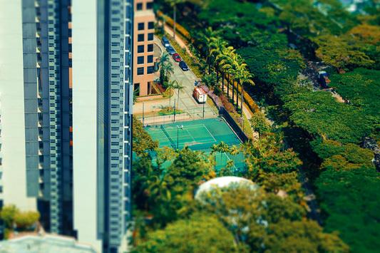 Hong Kong effet maquette