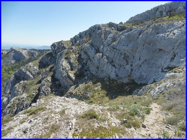 Retour dans le massif de la Sainte-Baume