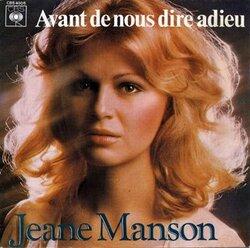 Avant de nous dire adieu - Jeane Manson